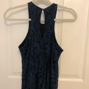 Express blue lace dress!